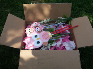 Baby OWL shower centerpieces