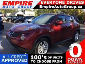 2013 NISSAN JUKE SL * AWD * ONE OWNER * SUNROOF * POWER GROUP