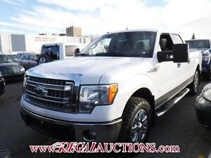 2014 FORD F150 XLT SUPERCREW  4WD