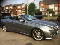 Mercedes E Class 3.0 E 350 CDI BLUEEFFICIENCY SPORT AUTO (palladium silver metallic) 2011