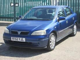 2002 Vauxhall Astra 1.6 i Club 5dr (a/c)