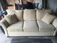 Free Couch! Expensive, comfy,clean minor damage