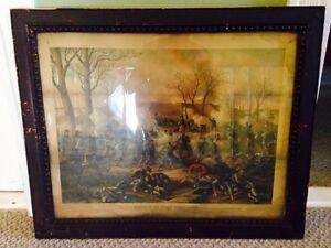 2 Original 19th Century Civil War Chromolithographs