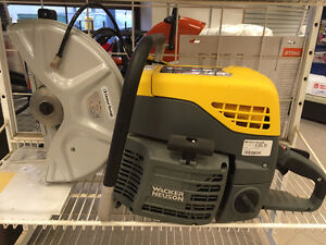 "(NEW) 14"" WACKER BTS CUT-OFF- SAW $999.99 + tax (DISPLAY MODEL)"