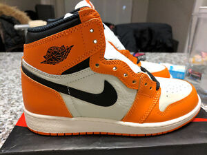 DS Jordan 1 Retro OG Shattered Backboard Away GS 4.5Y fit 6-6.5W