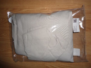 Brand New H&M Home Brand Twin Size Duvet Cover - Beige