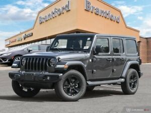 2019 Jeep Wrangler Unlimited Sahara  - Leather Seats - $383 B/W