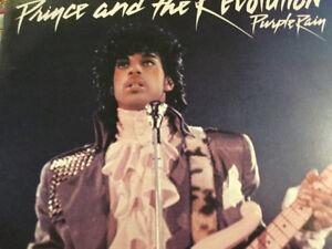 Disque 33 tours vinyle de Prince (purple Rain)