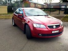 2007 Holden Calais VE V6 5 Speed Auto Burgundy Sedan Rooty Hill Blacktown Area Preview