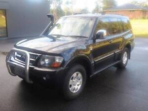2005 Mitsubishi Pajero Wagon GLS Platinum V6 3.8L Petrol Manual Devonport Devonport Area Preview