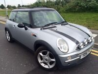 2001 51 Mini Cooper 1.6 panoramic roof model # full leather # only 88 k # cheap ins model