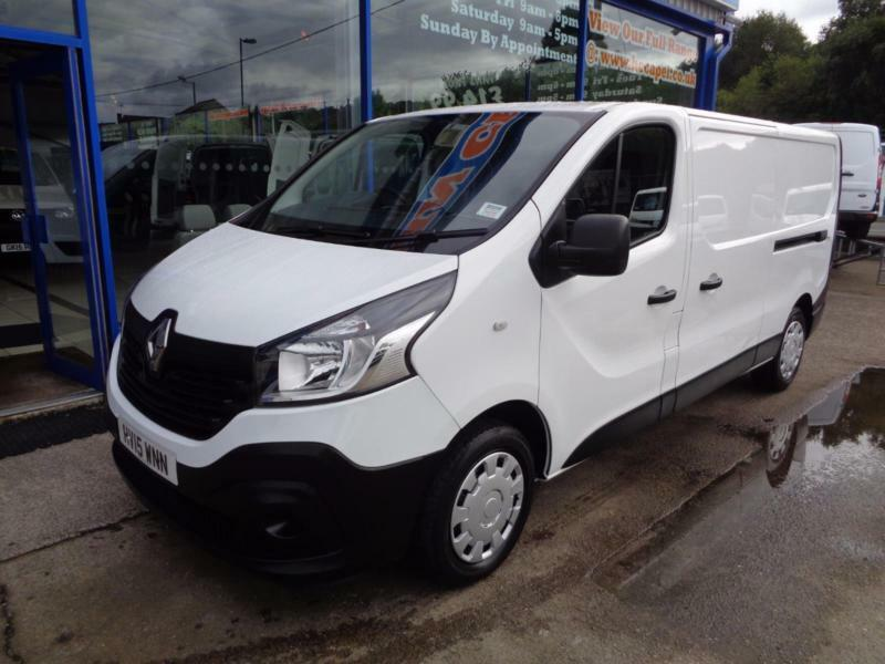 2015 RENAULT TRAFIC LL29 BUSINESS ENERGY DCI LWB .... RENAULT MANUFACTURES WARRA