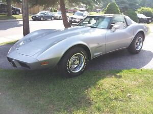 Super Original Silver Anniversary 1978 Corvette 4 spd REDUCED