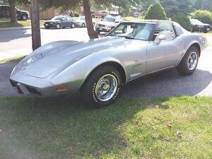 Super Original Silver Anniversary 1978 Corvette 4 spd REDUCED
