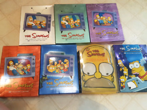 Dvd Boxed Sets - Simpsons/ Family Guy/ American Dad /Futurama
