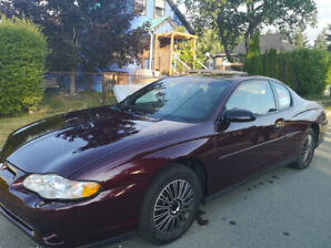 Don't Miss Out on this 2003 Monte Carlo