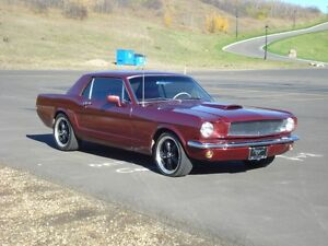1966 Mustang coupe. Restomod