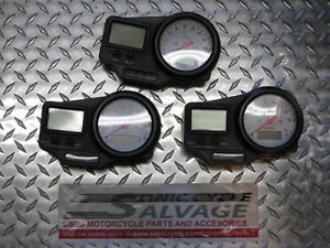 1999-2002 Yamaha YZF-R6 gauges oem 6 sets