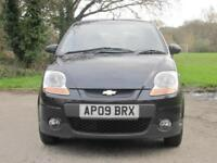 Chevrolet Matiz 1.0 SE 5 door hatchback manual petrol metallic black