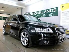 Audi A6 2.0 TDI S LINE Auto [6X SERVICES, SAT NAV and LEATHER]