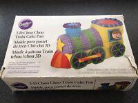 Wilton train cake tin