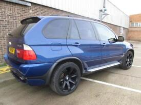 BMW X5 4.8 IS S PETROL AUTOMATIC SAT NAV PAN ROOF LEATHER AIR SUSPENSION