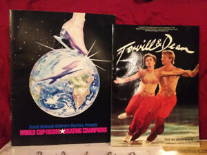 2 Figure Skating Booklets.