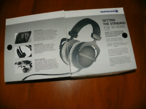 Beyerdynamic DT 770 Pro 250ohm - New pads and Headband