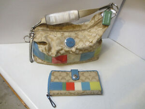 Coach Purse w. Matching Wallet