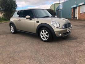 STUNNING MINI ONE HATCH 1.4 PETROL- 2 LADY OWNERS FROM NEW- 6 MONTHS WARRANTY