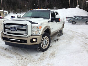 Ford f250 2013 diesel 6.7 king ranch