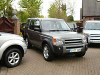2007 Land Rover Discovery 3 2.7TD V6 Auto HSE 7 Seats