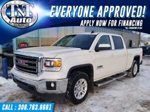 2015 GMC Sierra 1500 SLE Crew Cab Short Box 4X4! APPLY NOW!