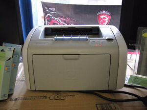 Assorted Laser Printers with Toner 5$ and up