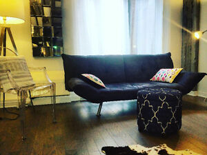 New furnished condo for visiting professionals right downtown