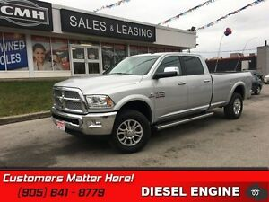2016 Ram 3500 Laramie   DIESEL!  4X4!   Heated Leather Seats!