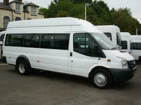 FORD TRANSIT 16 SEAT HIGH ROOF FRONT ENTRY WHEELCHAIR ACCESSIBLE MINIBUS