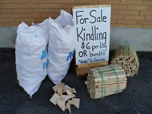 KINDLING / FIRE STARTER WOOD, BUNDLES OR BAGS