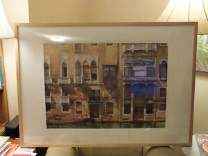 BALCONIES ON THE GRAND CANAL IN VENICE,..40'' x 28.5'' IKEA Kitchener / Waterloo Kitchener Area image 1
