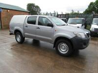 2015 65 Toyota Hi-Lux 2.5D-4D 4WD 4x4 Active Double Cab Pick up with canopy