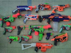 Nerf Gun Collection - 15 Guns