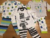 Boys clothing bundle 0-3m