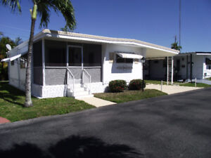 Maison mobile à vendre en Floride (Hollywood)
