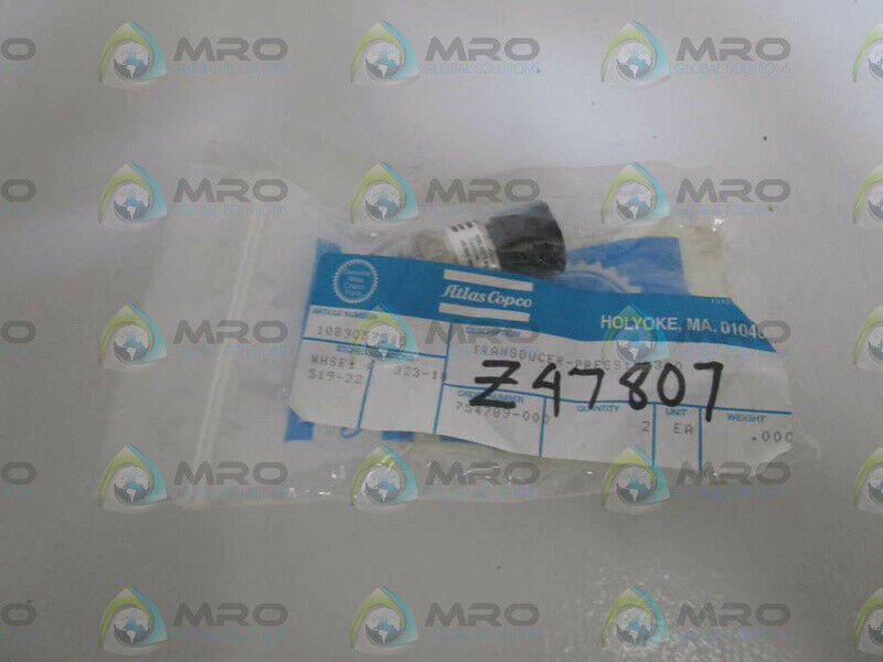 ATLAS COPCO TRANSDUCER 1089057545 * NEW IN FACTORY BAG *