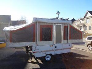2003 Jayco Qwest 8U Trailer Tent Tente Roulotte