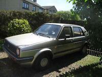 Volkswagen GOLF CL 4+E