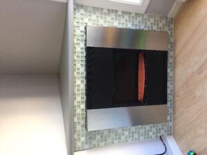 Interior Corner Fireplace Electric $50