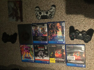 PS3, PS4 games and controllers