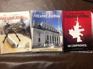 Canadian Firearms Journal Magazines + Others