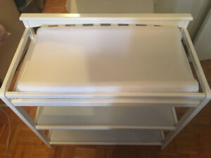 White Baby Changing Table for Sale